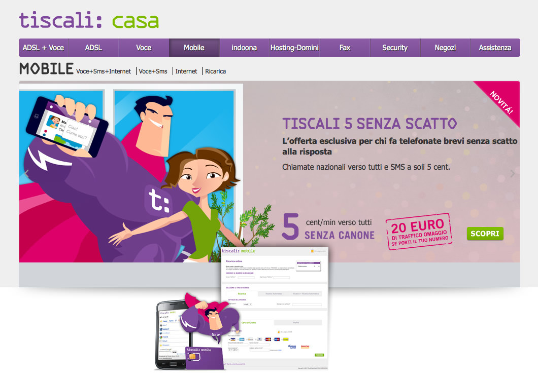 Case History bizConsulting - Tiscali